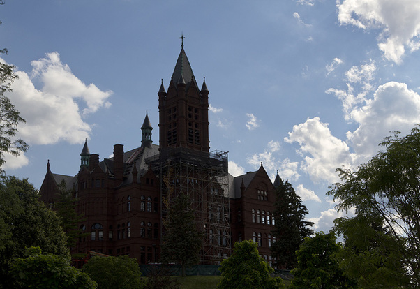 Renovated Syracuse University campus ready for students' arrival